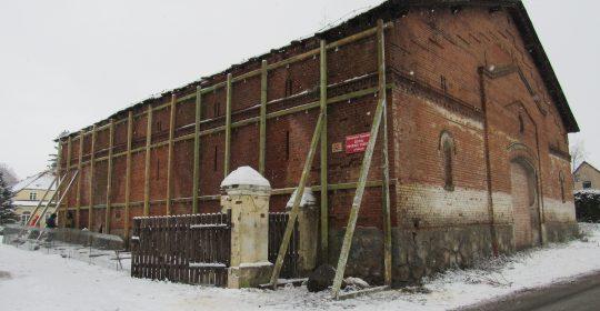 Zabezpieczenie zabytkowej stodoły