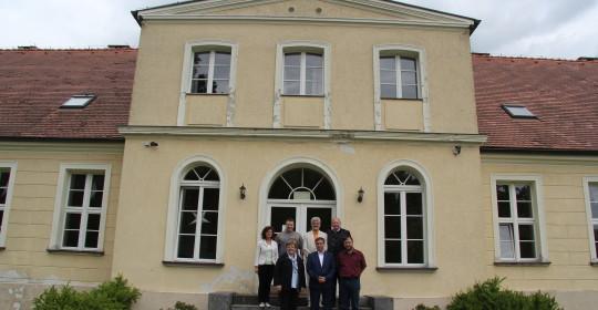 Delegacja z Bundestagu w ośrodku Uniwersytetu Szczecińskiego w Kulicach