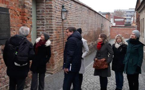 Prezentacja projektu Ośrodka w Kulicach z miastem Schwedt